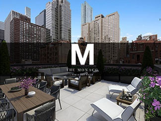 The Monaco 1 Bedroom + Home Office with Private Outdoor Space  - Luxury New Development Condominium