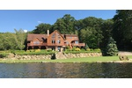 OWN YOUR OWN LAKE!!  CUSTOM BUILT LOG CABIN HOME ON 100 ACRE PROPERTY - MINUTES TO NYC